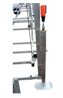 Adjustable Leg (Pair) 48'' with drill  (M2000 TO HC6500)