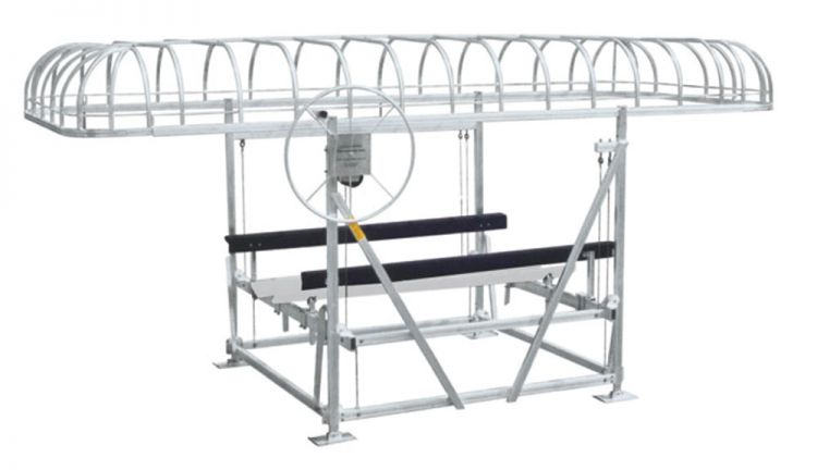 Boat Lift Canopy ...  sc 1 st  Ontario Boat Lifts & Bertrand Ontario Boat Lift Canopy for keeping your boat safe from ...